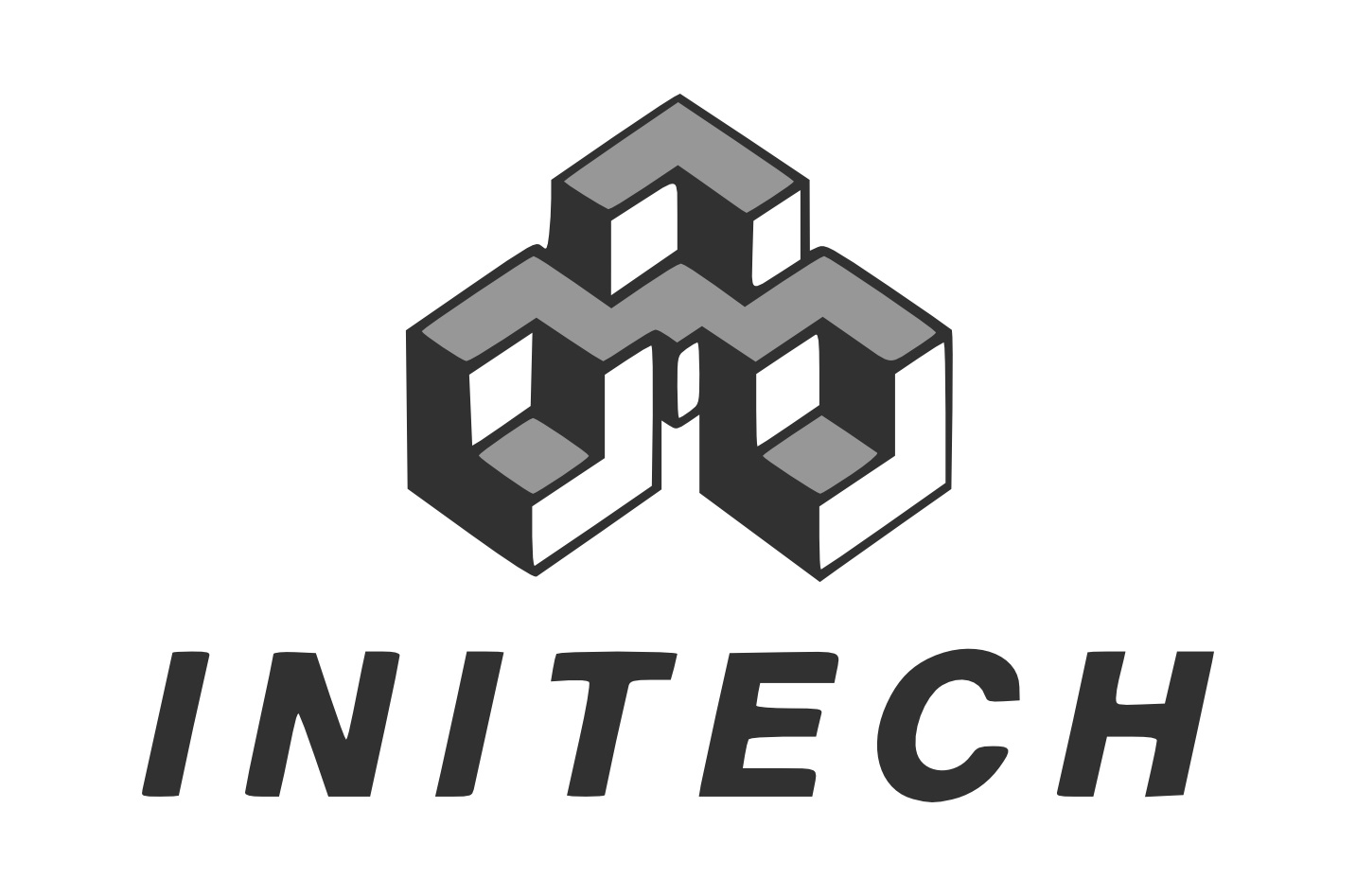 Initech Logo With No Tagline