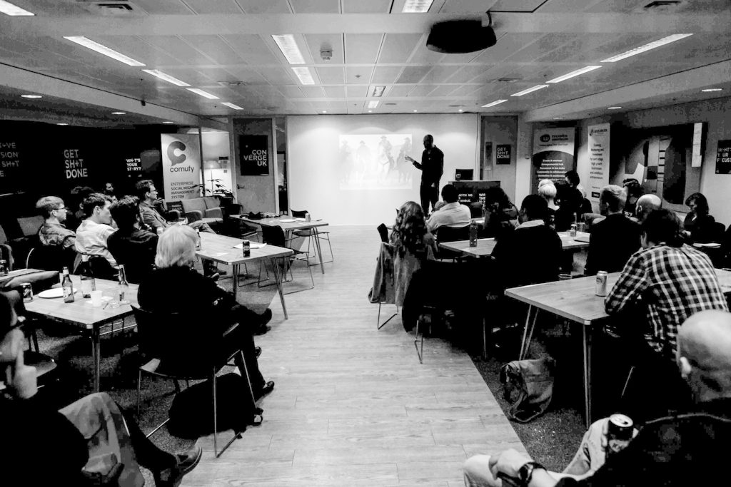 Jono Horner at Converge+UK