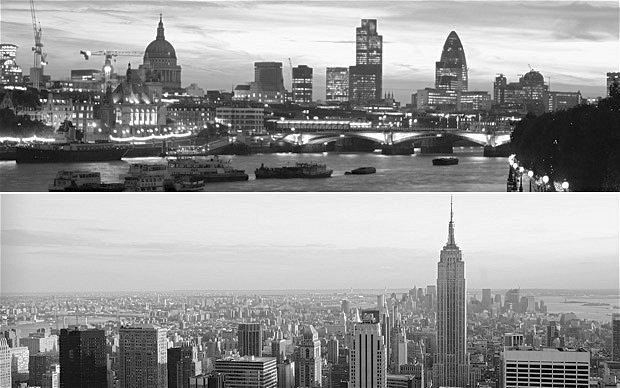 London and New York startup scenes