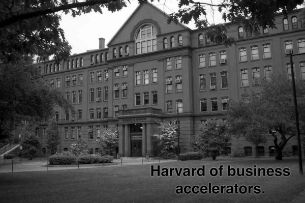Harvard of Business Accelerators