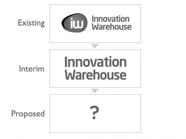 Innovation Warehouse Logo Change