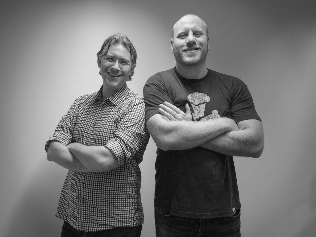 Patrick Vlaskovits and Peter Thomson