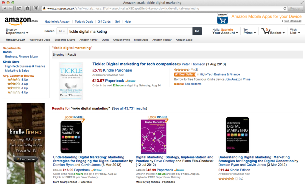 Tickle Best Seller
