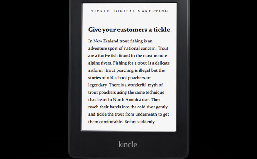 Tickle social media book