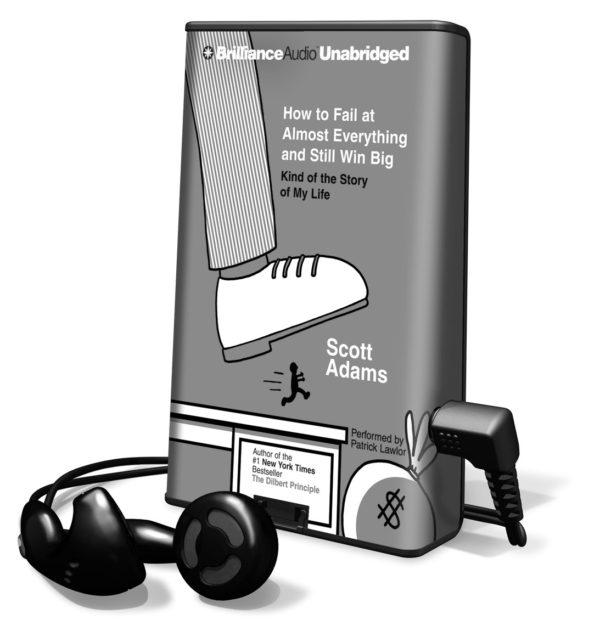 How to fail at almost everything audiobook