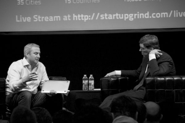 Mark Suster and Clayton Christensen from Flickr