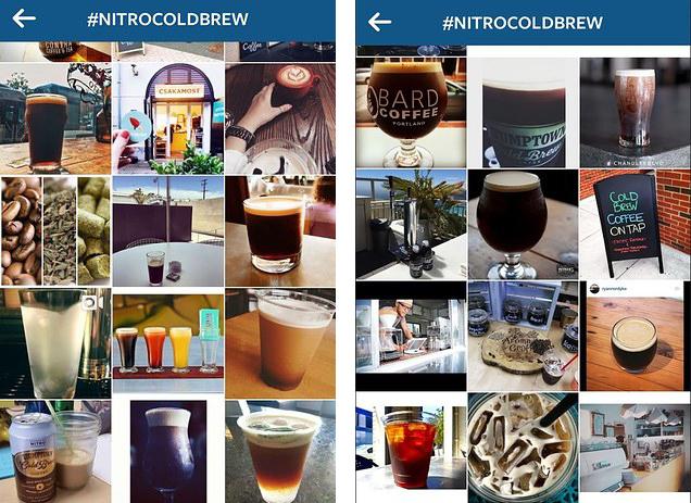 Nitro Iced Coffee Trend